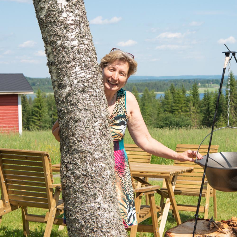 Glamour telttamajoitus Itärajan Helmi Pohjois-Karjala Tohmajarvi